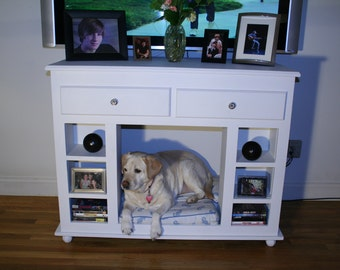 Dog furniture bed and table