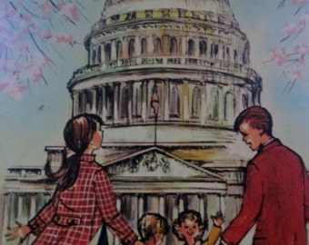 The Bobbsey Twins Adventure in Washington by Laura Lee Hope