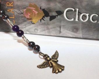Handmade The Infernal Devices inspired Tessa Gray bookmark - Cassandra Clare - Clockwork Angel - Christmas Gifts