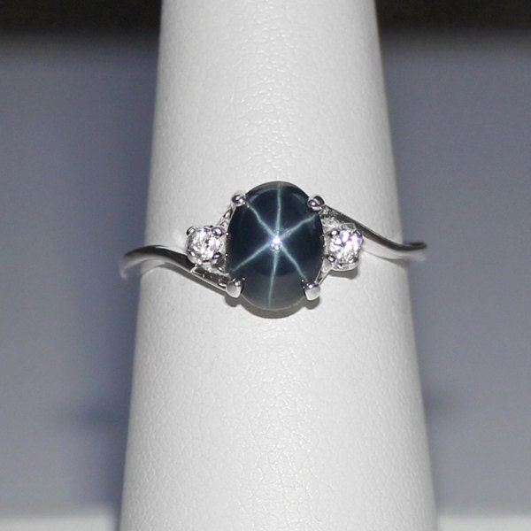 Resultado de imagen para simple star sapphire rings