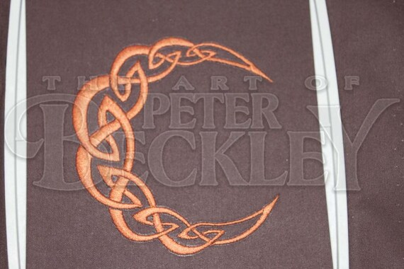 Celtic Knot Crescent Moon Machine by TheArtofPeterBeckley ...
