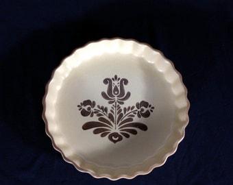 Vintage Pfaltzgraff Quiche Dish