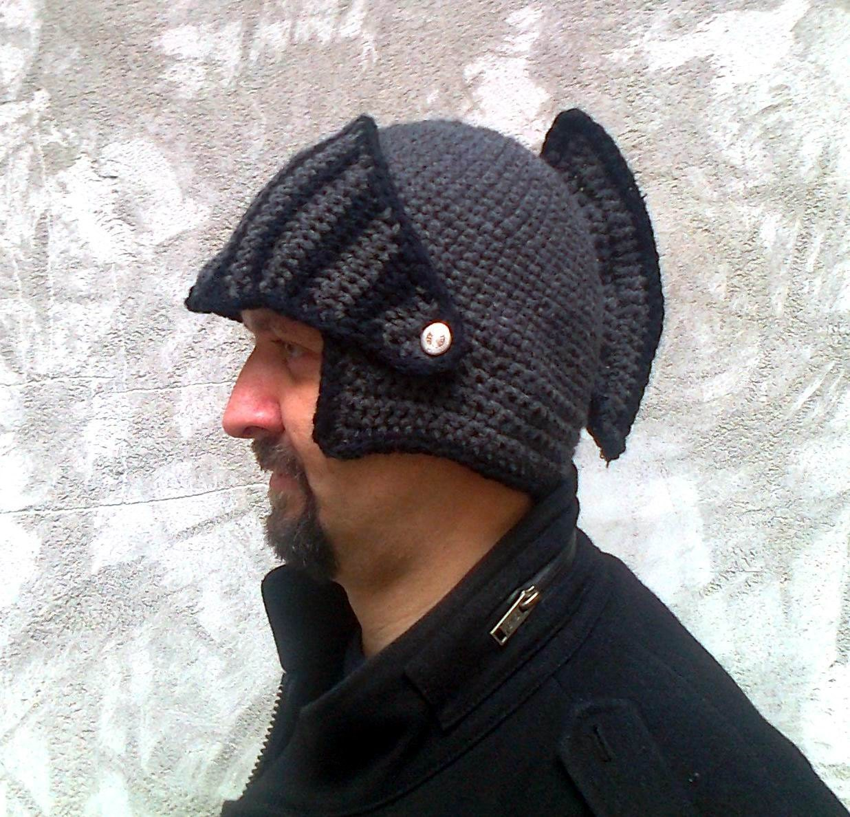 Knight helmet boyfriend gift winter hat mens hat brother zoom bankloansurffo Choice Image