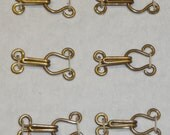 Replica Historical Hooks and Eyes for Tudor/Elizabethan Reenactment or Fancy Dress