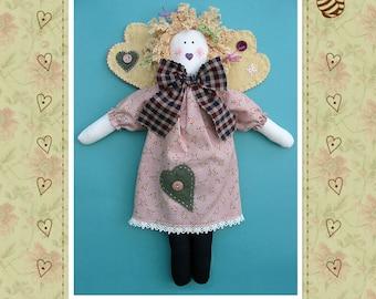 Angelina Angel Rag Doll Pattern