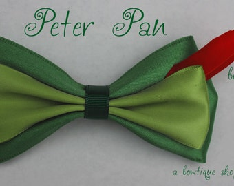 peter pan clip on bow tie