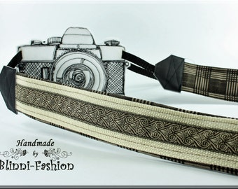 Camera strap, brown