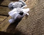 Max the Miniature Schnauzer Crochet Dog