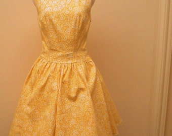 Miss Daisy, 50's inspired day dress.