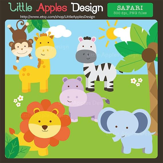 Jungle ClipArt / Safari Clipart / Jungle Clip Art / Safari
