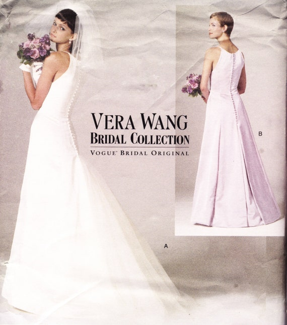 Vera Wang Wedding Gown Pattern Size 6 8 10 By Patternandstitch