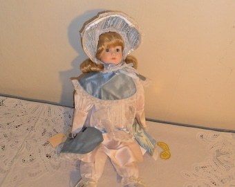 Vintage Brinns Musical Collectible Edition Doll - Natalie