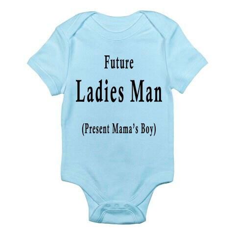 Funny Baby Shirt THE ORIGINAL Future Ladies Man Current