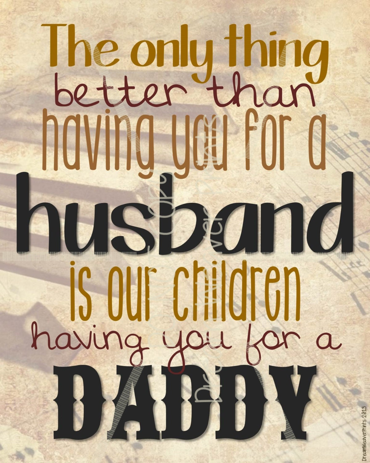 Quotes For Fathers Day For Husband: Father's Day Printable Subway Print Art Card Dad Father