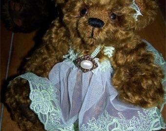 Dancing Darla-OOAK Mohair Teddy Bear
