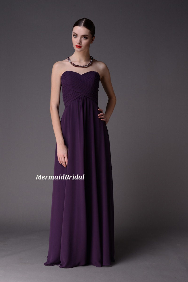 J S Everyday Fashion Purple Dress