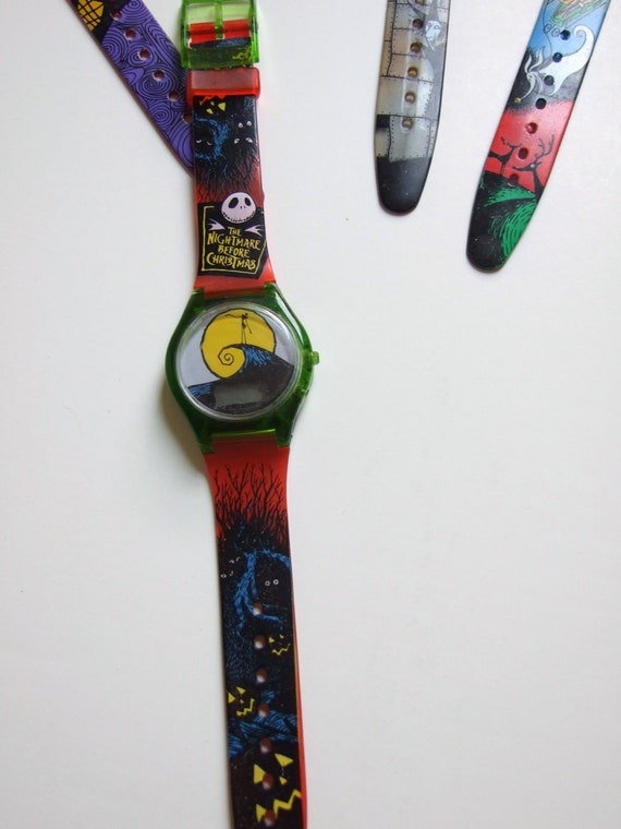 Last One - 90's Vintage Nightmare Before Christmas Collectible Watches ...