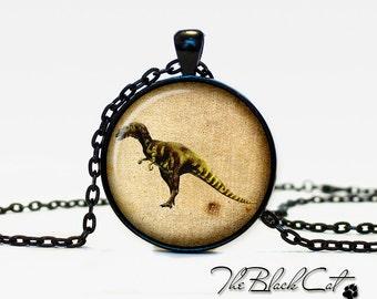 Dinosaur pendant Dinosaur necklace Dinosaur jewelry vintage style (PD022)
