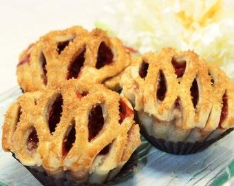Mini Pie, Fresh Cherry Pie - 1 dozen