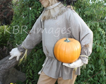 Scarecrow with Pumpkin