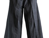 ChomThong Hand Woven Cotton Hakama Style Pants (PFS-039-01M)