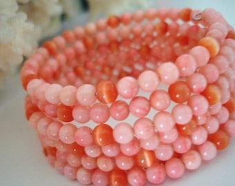 Coral Coil Bracelet