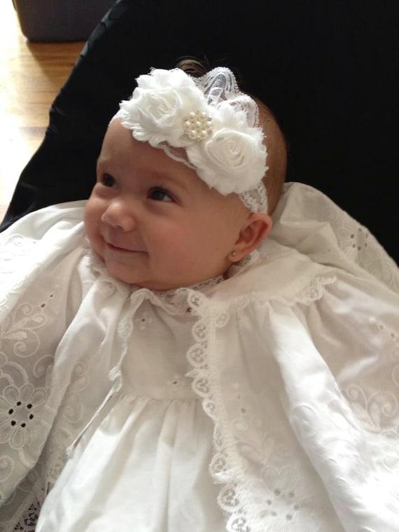 Diademas para bautizo beb imagui - Diademas para bautizo ...
