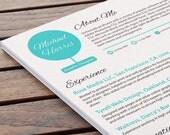 Artistic CV Design - Avant Garde Clean