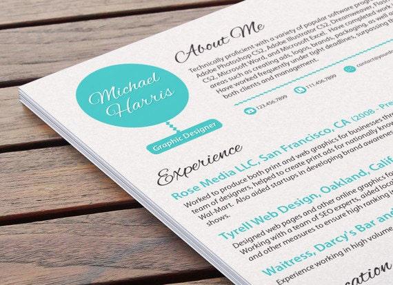 Custom typeset resume