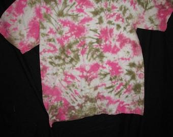 Tie Dye Choas camo pink brown