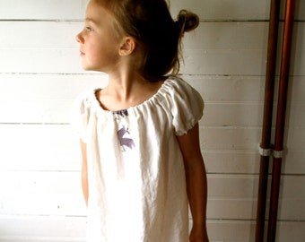 Simple Linen Play Dress - sewn to order
