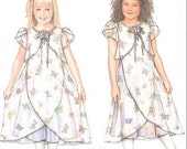 DAISY KINGDOM Dress Sewing Pattern - Girls Dresses Slip - OOP Easter Party Outfit