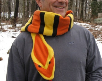 Milk Snake scarf for the Cold-Blooded Type