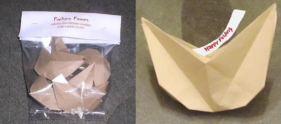 Items similar to PDF - Origami Fortune Cookie and over 75 ... - photo#26