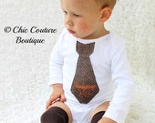 Thanksgiving 2014 or Baby's 1st Thanksgiving Embroidered Tie Bodysuit & Leg Warmers. Holiday Christmas Outfit.  Family Holiday Pictures.