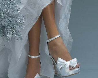 Wedding Shoes- Over 250 Custom Colors- Bridal Shoes, Princess Shoes, Perfect Wedding Shoes, Pink2Blue Wedding Shoes