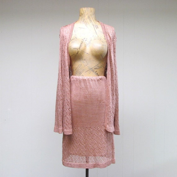 Blush Colored Silk Blouse 93