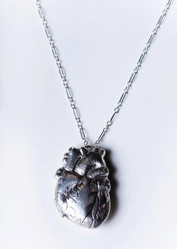Anatomical Heart Locket No.3