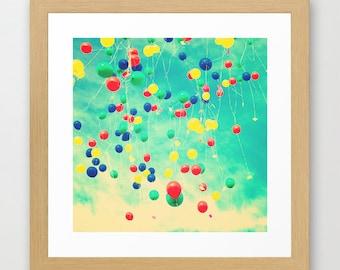 SALE, Colorful prints, pop art, pop art print, large art, Nursery art, colorful art, large wall art, balloon art,balloon print,nursery decor
