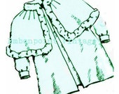 Plus Size Pattern (or any size) Vintage 1934 Baby Coat - PDF - Pattern No 118 Therese