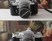 RESERVED ///  Vintage MIRANDA camera as new. Miranda Sensomat RE.