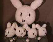 Crochet pattern 'Rabbit bunch'