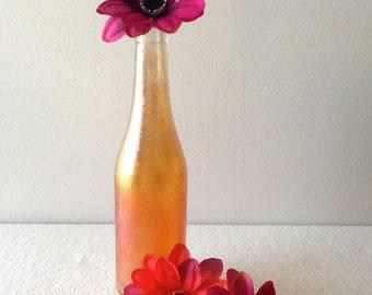 1930's Canada Dry Carnival Glass Bottle