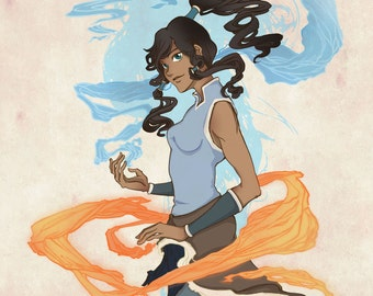 Legend of Korra, Korra postcard
