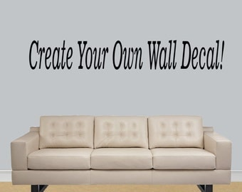 Make Your Own Decal Etsy - Vinyl stickers design your own