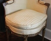 Vintage French Corner Chair