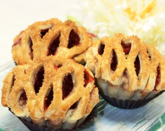 Mini Pie, Fresh Cherry Pie - 1 dozen