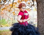 Giant Tulle Petticoat Wedding Skirt Gothic Steampunk Bridal - Crinoline Black or White-Custom to Your Size