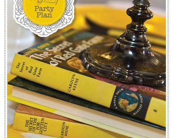 Mystery Party Plan: A 70-Page eGuide to Planning Your Nancy Drew, Detective, Sleuth Party INSTANT DOWNLOAD + 10% off Party Supplies Coupon