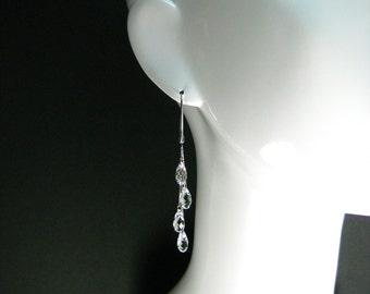 Swarovski Crystal Raindrops Earrings